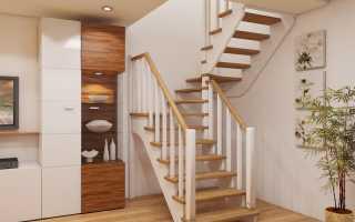 Двухмаршевые лестницы: конструкционные особенности