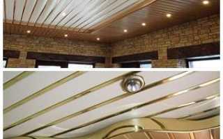 Реечный потолок: плюсы и минусы, монтаж своими руками