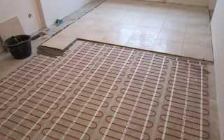 Потребление электроэнергии теплым полом на 1м2
