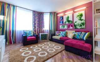 Как подобрать штору в розовый интерьер комнаты