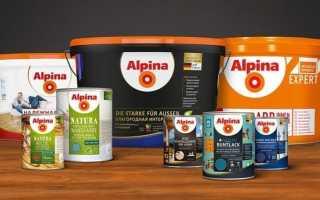 Краски Alpina: особенности и цветовые решения