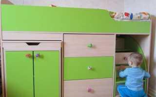 Какой должна быть кровать-чердак для детей от 3 лет