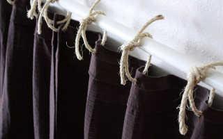 Крепим шторы к карнизу: какие варианты существуют