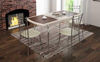 Хромированные стулья; модели и эксплуатационные качества