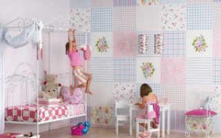 Как правильно комбинировать обои для детской комнаты