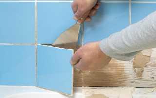 5 способов снять плитку с гипсокартона, не повредив ее