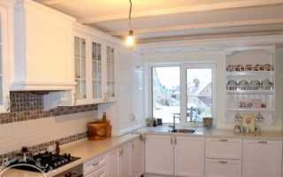 Угловые кухни с окном: как грамотно спроектировать и красиво оформить