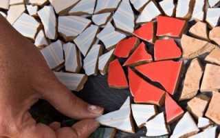 Как использовать старый кафель на даче: фото