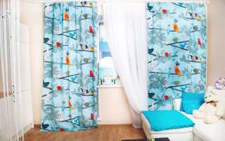 Голубые шторы; отличные идеи гармоничного сочетания в интерьере (90 фото)