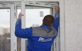 Как правильно снять пластиковое окно с петель и не повредить