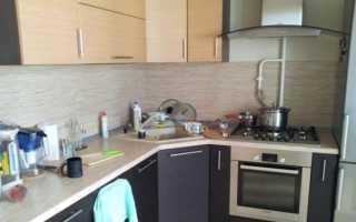 Как спрятать стояк на кухне