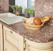 Какая должна быть высота кухни от пола до столешницы