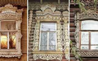 Как сделать резные наличники на окна в деревянном доме