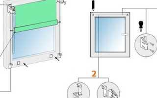 Как крепить жалюзи на пластиковые окна без сверления