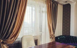 Какой выбрать дизайн штор для кабинета руководителя