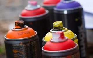 Как выбрать краску по металлу в баллончиках
