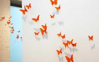 Ах, эти бабочки! Великолепное украшение для дома своими руками, причём за копейки