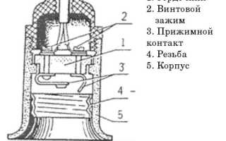Разновидности, маркировка, установка и крепление патронов для лампочек