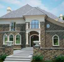 Плитка под камень для фасада – достойная замена натуральному материалу