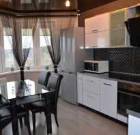 70 вариантов современных штор для кухни