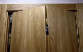 Складные механизмы для двери книжка