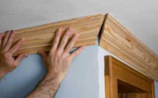 Как правильно резать потолочный плинтус в углах