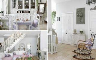 Двери для интерьера в стиле шебби-шик
