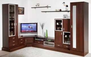 Угловые стенки в гостиную: 5 преимуществ современных моделей