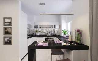 18 идей по оформлению кухни студии 20 кв