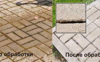 Мокрый камень: гидрофобизатор для тротуарной плитки