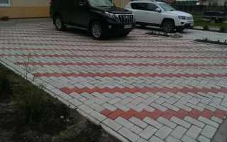 Пошаговая технология укладки тротуарной плитки под автомобиль (машину, авто): толщина, какую выбрать