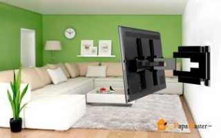 Как повесить телевизор на гипсокартонную стену надежно