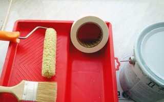 Покраска потолка водоэмульсионной краской: подготовка поверхности, пошаговая инструкция по окрашиванию