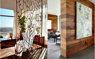 Комнатные перегородки в интерьере квартиры: разъясняем обстоятельно