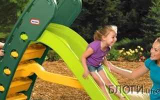 Товары и Услуги → Как выбрать детские горки: Пластиковые горки, металлические или деревянные
