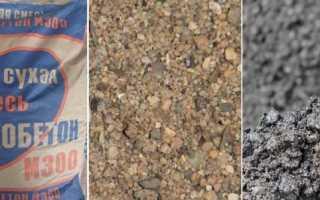 Пескобетон (пескосмесь) для стяжки пола: марка, расход, расчет