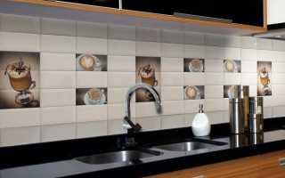 Оригинальный фартук для кухни из керамической плитки – фото и дизайн реальных объектов