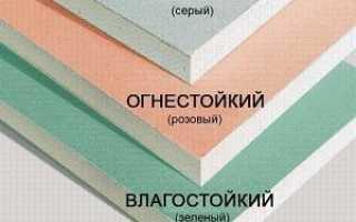 Особенности укладки плитки на гипсокартон