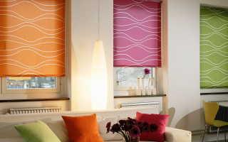 Римские шторы; 170 фото идей и новинок стильных штор на пластиковые окна