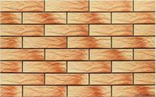 Фасадная плитка, её виды и характеристики