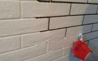Как правильно затереть швы на декоративном камне