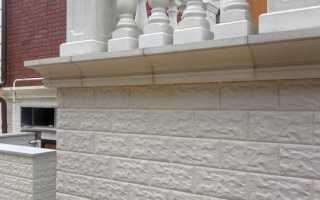 Облицовочная плитка для цоколя: выбор и разновидности материала, последовательность облицовки