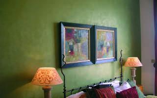 Покраска стен декоративной краской своими руками — необычные способы