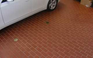 Как провести укладку тротуарной плитки для парковки