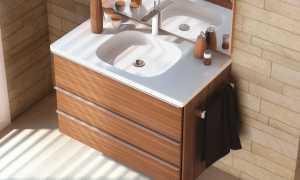 Высота установки раковины в ванной; стандарт, ГОСТы и рекомендации по монтажу