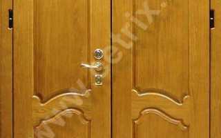 Двухстворчатые входные двери в Балашихе