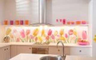 Всё, что нужно знать про стеклянный фартук для кухни