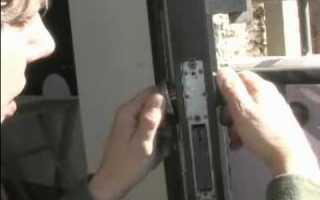 Как отремонтировать замок в металлической двери своими руками
