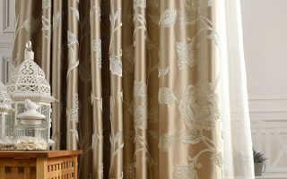 Какую ткань выбрать для пошива штор