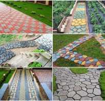 Самодельная тротуарная плитка: своими руками, опыт умельцев портала